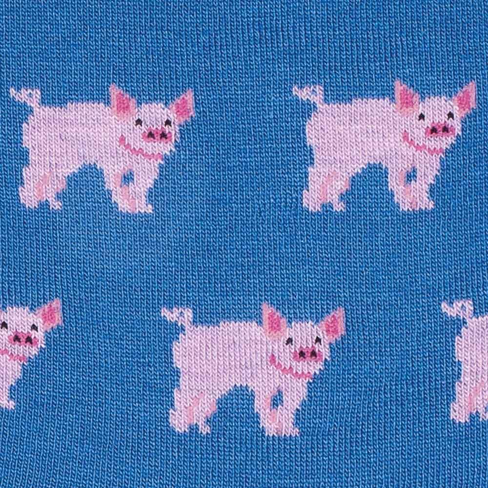 Piglets socks detail