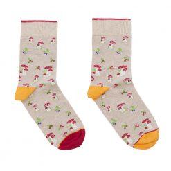 calcetines champiñones