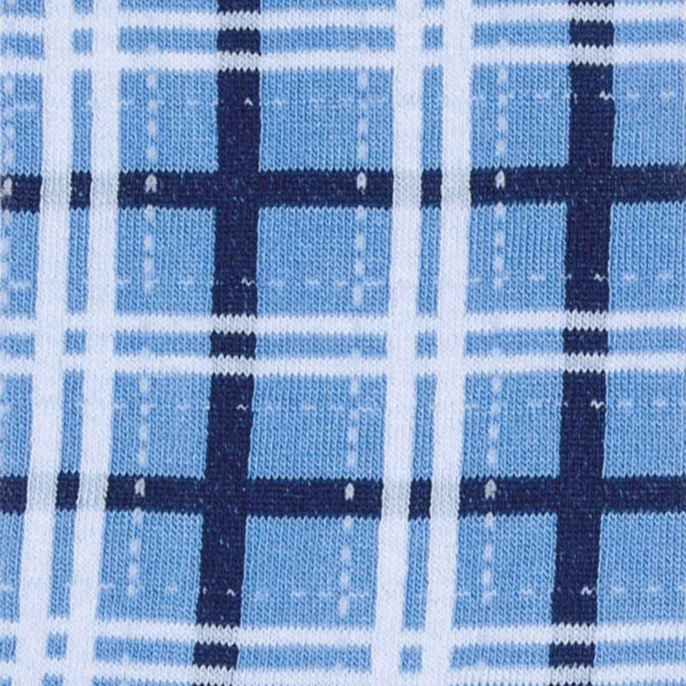 Scottish Deconstructed Sky Socks detail