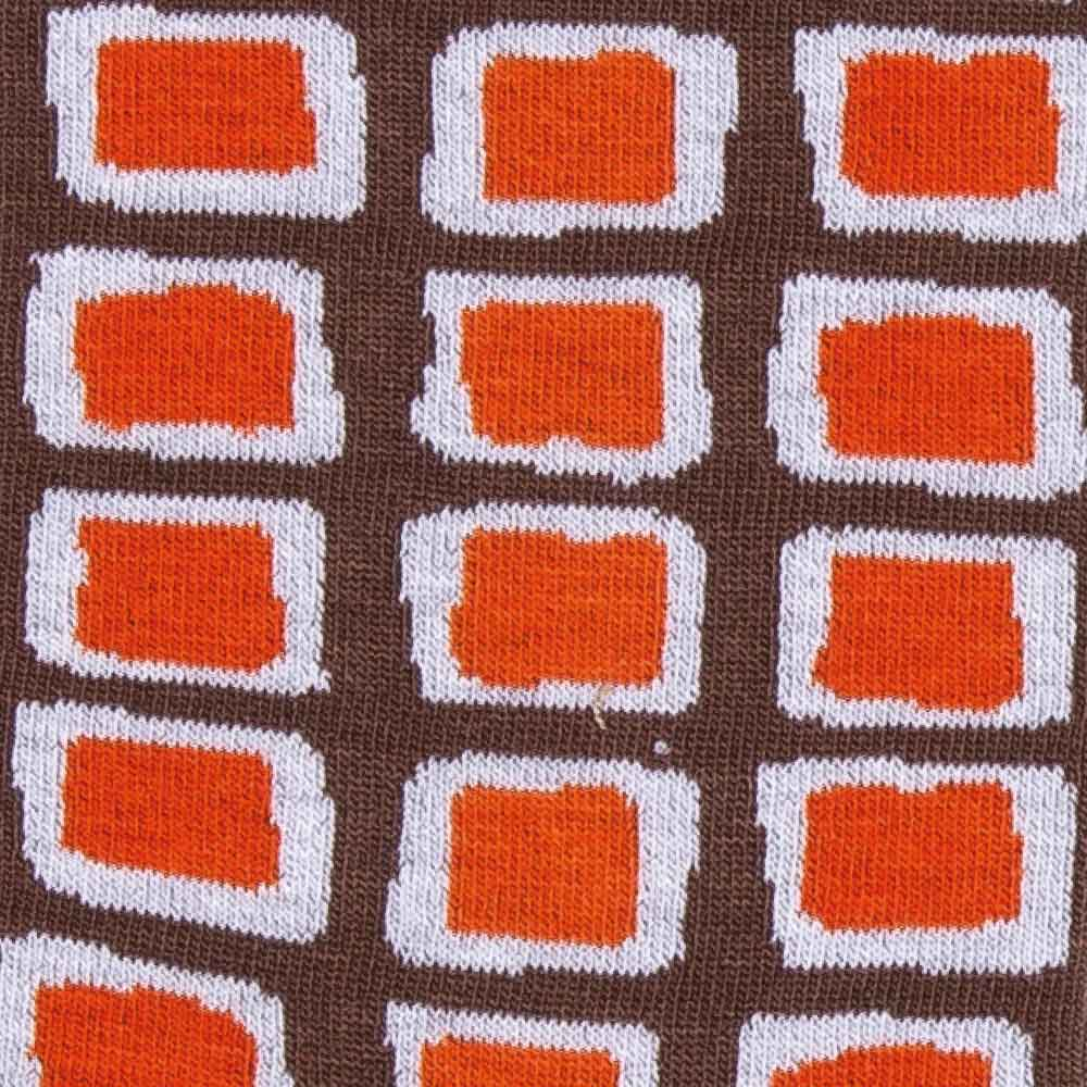 Squares socks detail