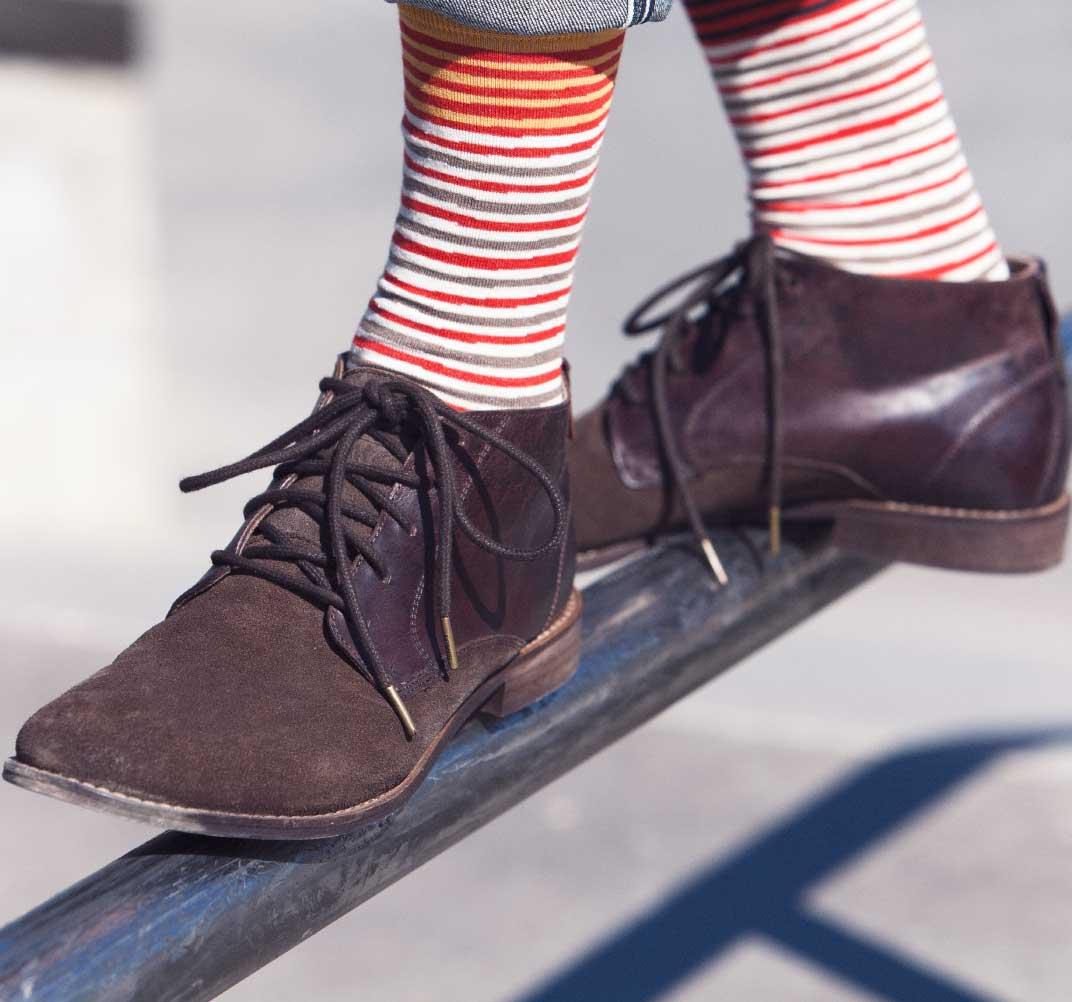 calcetines rayas wally hombre