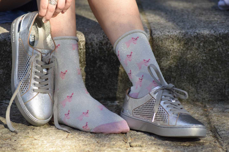 Piglets glitter Socks women