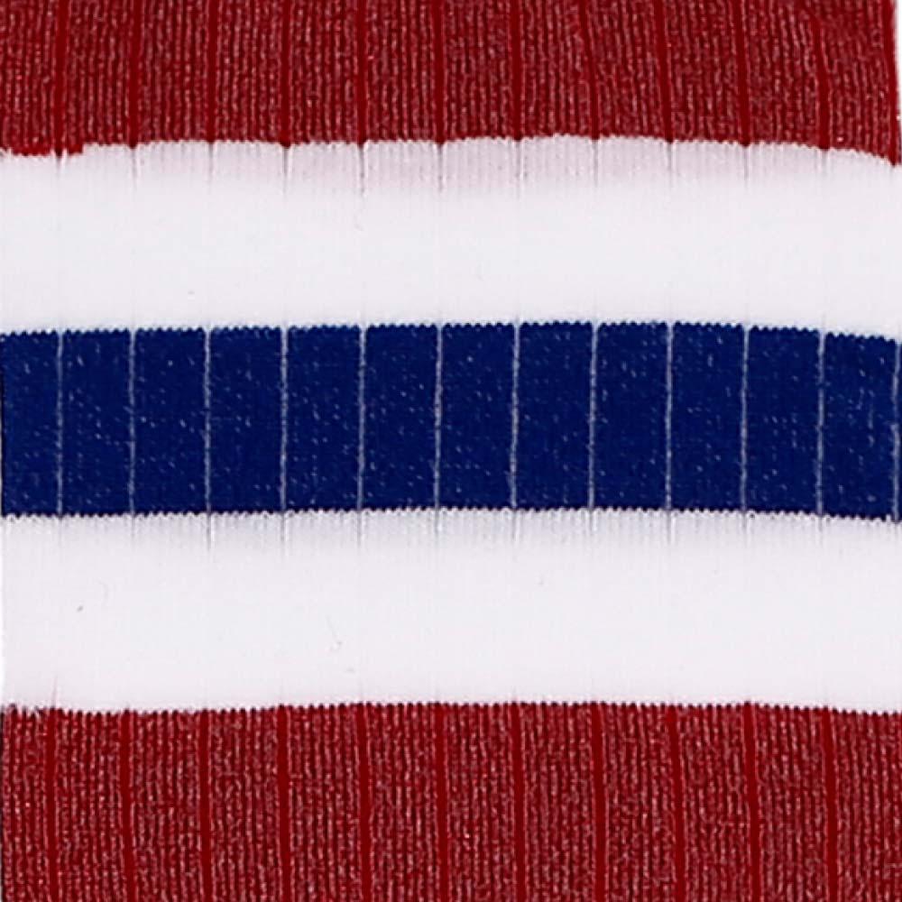 Red Old School Lurex Socks detail