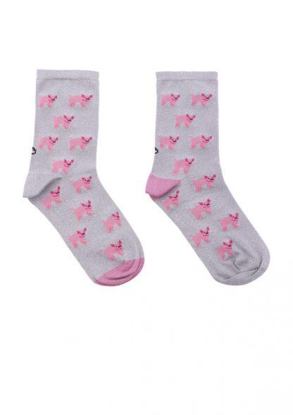 calcetines cerditos lurex