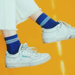 blue chic glitter