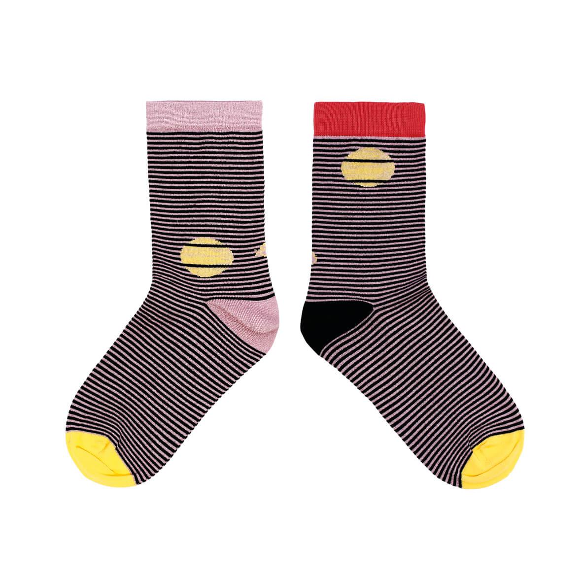 calcetines-destellos-brillante-mujer