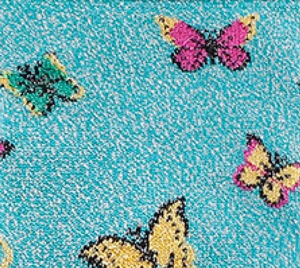 Mariposas-azules-brillantes-detalle