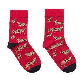 calcetines gatos mujer