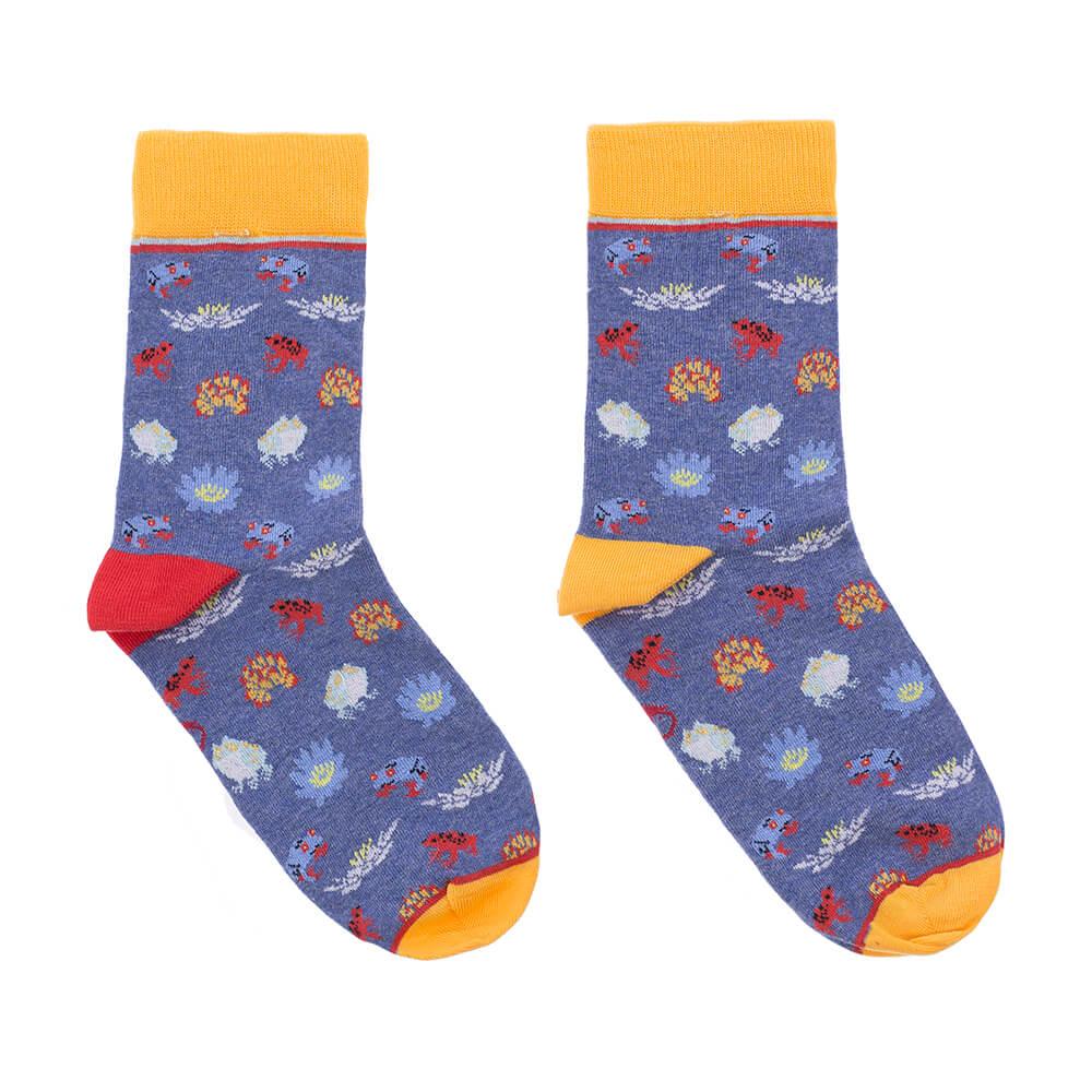 calcetines ranas mujer