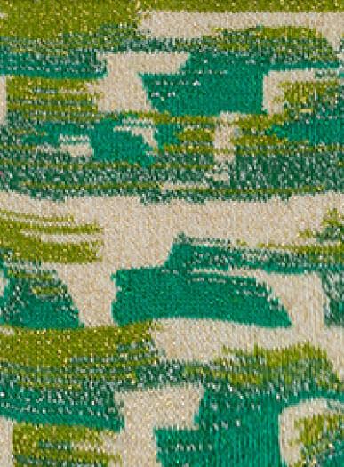 pinceladas-verdes-brillantes-silueta