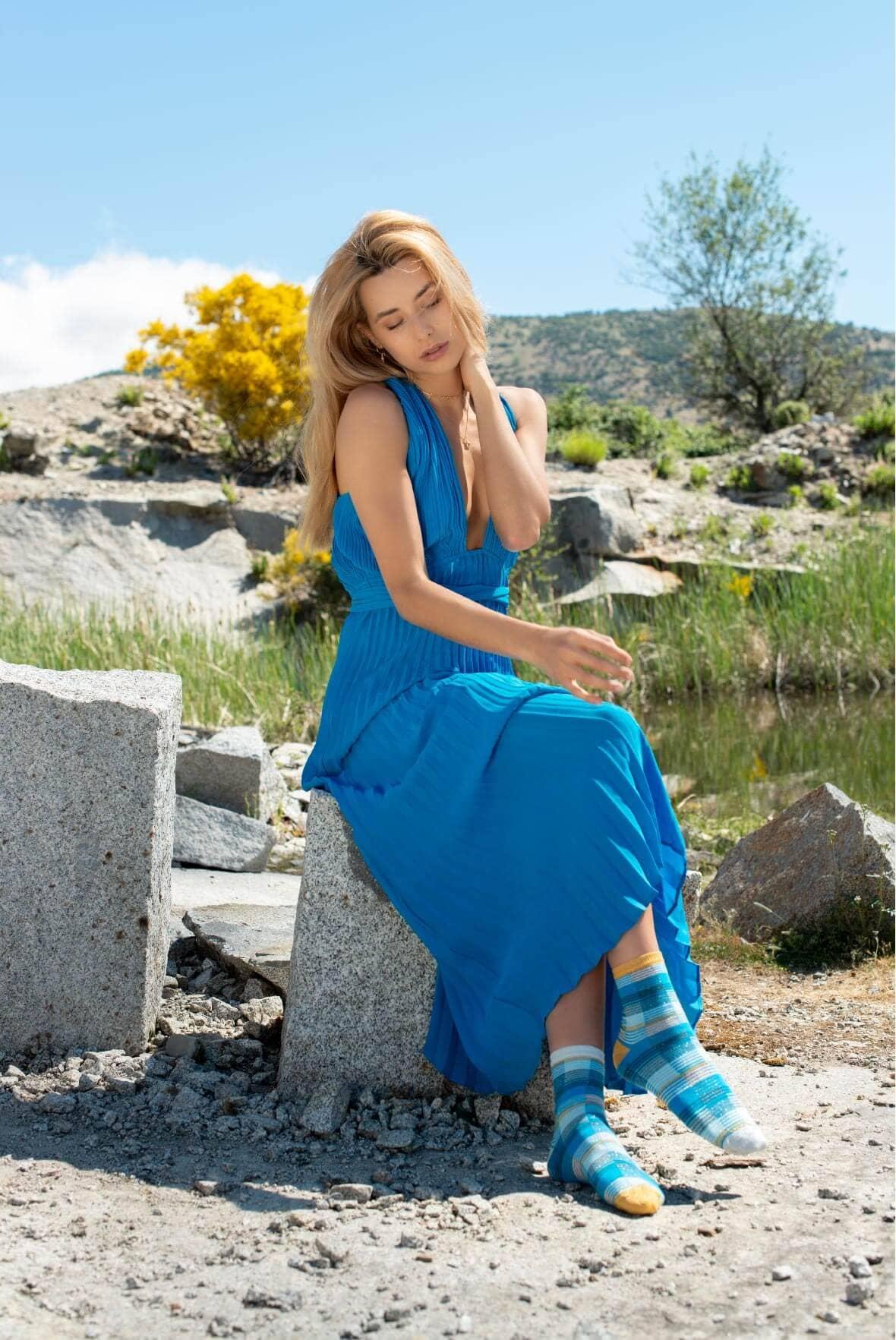 rayas-azules-vintage-brillantes-moda