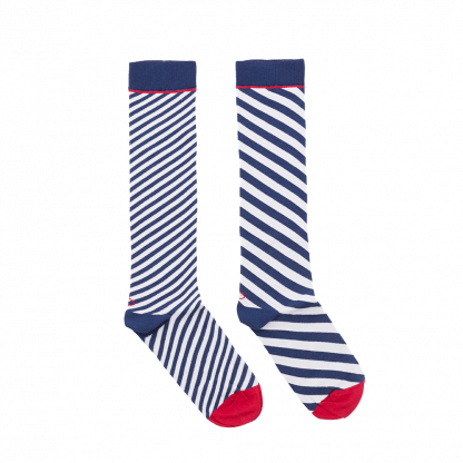 calcetines rayas diagonales
